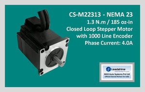 Leadshine Closed Loop Stepper Motor CS-M22313 NEMA 23 - MAS Auto Systems Pvt Ltd