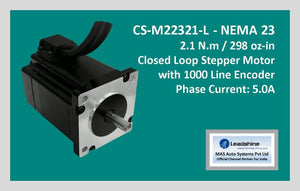 Leadshine Closed Loop Stepper Motor CS-M22321-L NEMA 23 - MAS Auto Systems Pvt Ltd