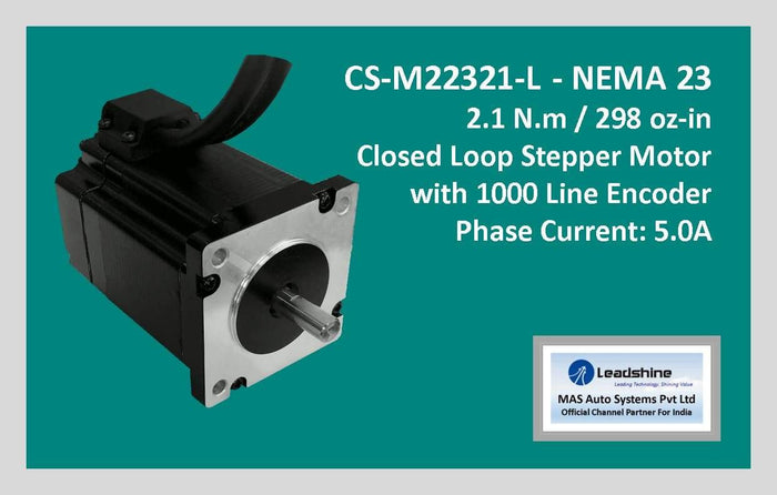 Leadshine Closed Loop Stepper Motor CS-M22321-L NEMA 23