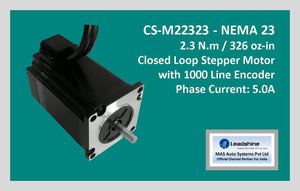 Leadshine Closed Loop Stepper Motor CS-M22323 NEMA 23 - MAS Auto Systems Pvt Ltd