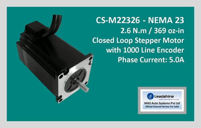 Leadshine Closed Loop Stepper Motor CS-M22326 NEMA 23