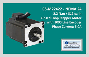 Leadshine Closed Loop Stepper Motor CS-M22422 NEMA 24 - MAS Auto Systems Pvt Ltd