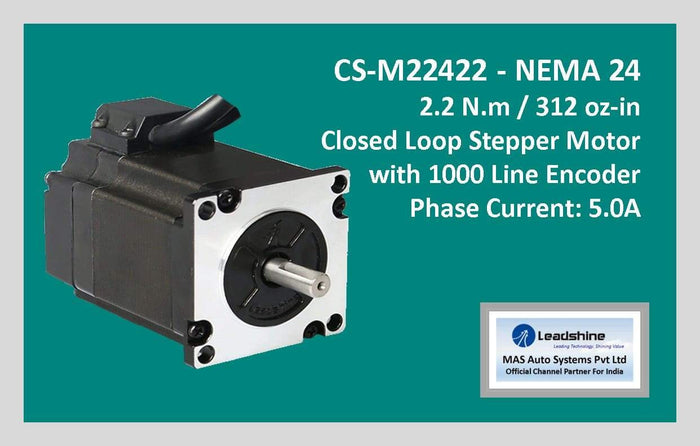 Leadshine Closed Loop Stepper Motor CS-M22422 NEMA 24
