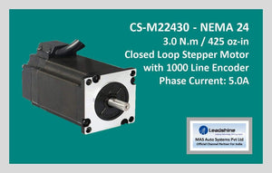 Leadshine Closed Loop Stepper Motor CS-M22430 NEMA 24 - MAS Auto Systems Pvt Ltd
