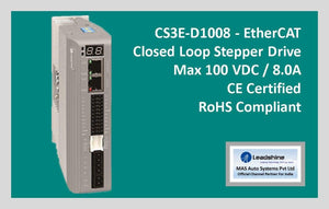 Leadshine Network Closed Loop Stepper Drive CS3E-D1008 - MAS Auto Systems Pvt Ltd