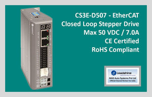 Leadshine Network Closed Loop Stepper Drive CS3E-D507 - MAS Auto Systems Pvt Ltd