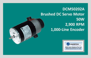 Leadshine Brushed DC Servo Motor DCM50202A - MAS Auto Systems Pvt Ltd