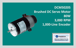 Leadshine Brushed DC Servo Motor DCM50205 - MAS Auto Systems Pvt Ltd