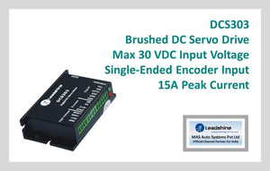 Leadshine Brushed DC Servo Drive DCS303 - MAS Auto Systems Pvt Ltd