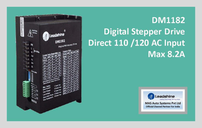 Leadshine Digital Stepper Drive DM Series - DM1182