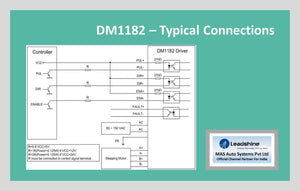 Leadshine Digital Stepper Drive DM Series - DM1182 - MAS Auto Systems Pvt Ltd