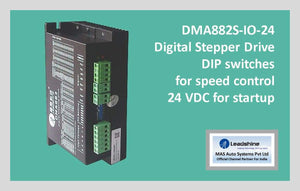 Leadshine Digital Stepper Drive DM Series - DMA2282-IO-24 - MAS Auto Systems Pvt Ltd
