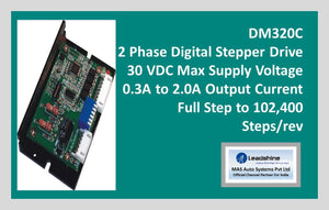Leadshine 2 Phase Digital Stepper Drive DM320C - MAS Auto Systems Pvt Ltd