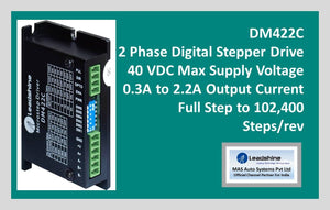 Leadshine 2 Phase Digital Stepper Drive DM422C - MAS Auto Systems Pvt Ltd