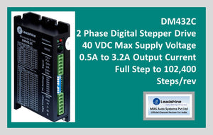 Leadshine 2 Phase Digital Stepper Drive DM432C - MAS Auto Systems Pvt Ltd