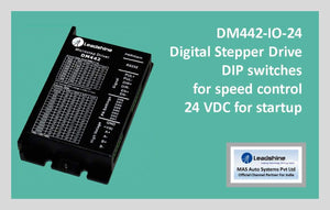 Leadshine Digital Stepper Drive DM Series - DM442-IO-24 - MAS Auto Systems Pvt Ltd