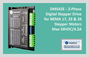 Leadshine Digital Stepper Drive DM Series - DM542E - MAS Auto Systems Pvt Ltd