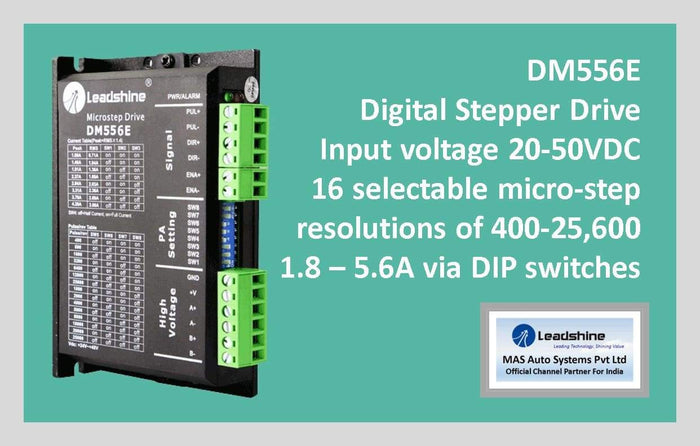 Leadshine Digital Stepper Drive DM Series - DM556E