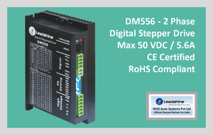 Leadshine Digital Stepper Drive DM Series - DM556 - MAS Auto Systems Pvt Ltd