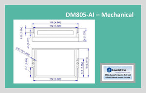 Leadshine Digital Stepper Drive DM Series - DM805-AI - MAS Auto Systems Pvt Ltd