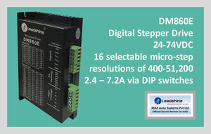 Leadshine Digital Stepper Drive DM Series - DM860E - MAS Auto Systems Pvt Ltd