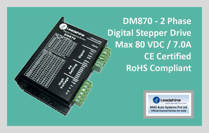 Leadshine Digital Stepper Drive DM Series - DM870