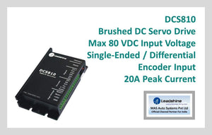 Leadshine Brushed DC Servo Drive DCS810 - MAS Auto Systems Pvt Ltd