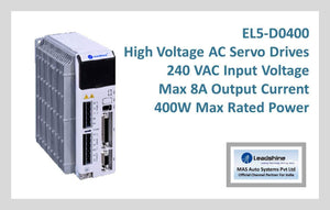 Leadshine High Voltage AC Servo Drive EL5-D0400 - MAS Auto Systems Pvt Ltd
