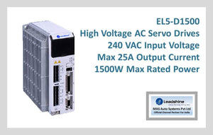 Leadshine High Voltage AC Servo Drive EL5-D1500 - MAS Auto Systems Pvt Ltd