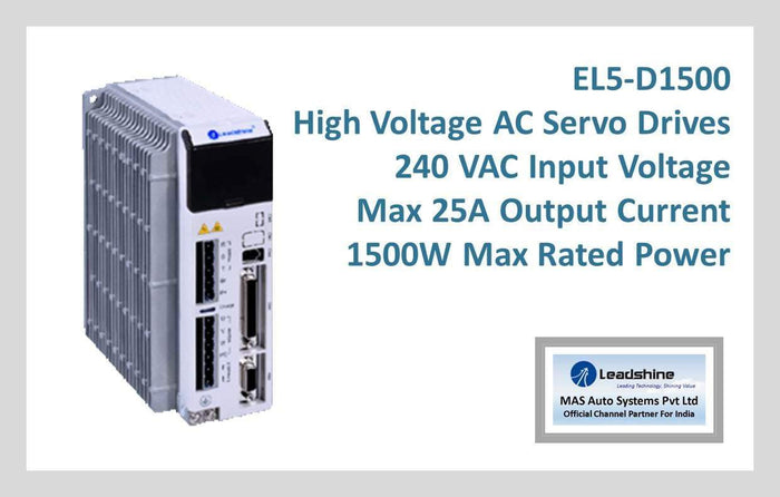 Leadshine High Voltage AC Servo Drive EL5-D1500