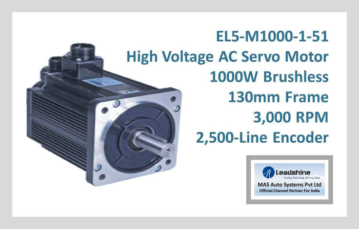Leadshine High Voltage AC Servo Motor EL5-M1000-1-51