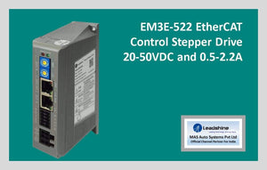 Leadshine Network Stepper Drive EM3E Series EM3E-522 - MAS Auto Systems Pvt Ltd