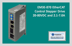 Leadshine Network Stepper Drive EM3E Series EM3E-870 - MAS Auto Systems Pvt Ltd