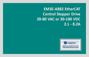 Leadshine Network Stepper Drive EM3E Series EM3E-A882 - MAS Auto Systems Pvt Ltd