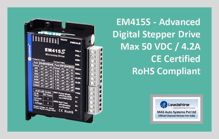 Leadshine Digital Stepper Drive EM-S Series - EM415S