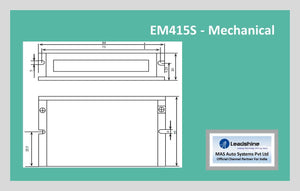 Leadshine Digital Stepper Drive EM-S Series - EM415S - MAS Auto Systems Pvt Ltd