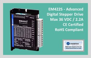 Leadshine Digital Stepper Drive EM-S Series - EM422S - MAS Auto Systems Pvt Ltd