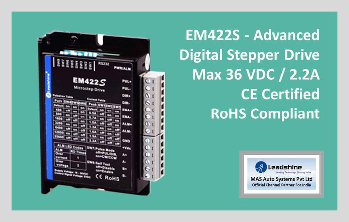 Leadshine Digital Stepper Drive EM-S Series - EM422S