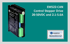 Leadshine Network Stepper Drive EM-CAN Series EM522-CAN - MAS Auto Systems Pvt Ltd