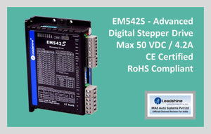 Leadshine Digital Stepper Drive EM-S Series - EM542S - MAS Auto Systems Pvt Ltd