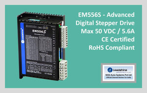 Leadshine Digital Stepper Drive EM-S Series - EM556S - MAS Auto Systems Pvt Ltd