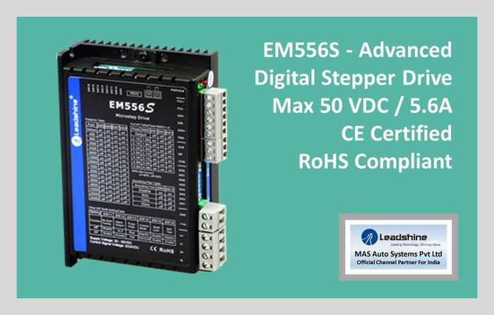 Leadshine Digital Stepper Drive EM-S Series - EM556S
