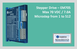 Leadshine Stepper Drive EM705 - MAS Auto Systems Pvt Ltd