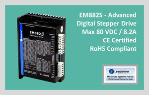 Leadshine Digital Stepper Drive EM-S Series - EM882S - MAS Auto Systems Pvt Ltd