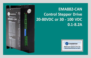 Leadshine Network Stepper Drive EM-CAN Series EMA882-CAN - MAS Auto Systems Pvt Ltd