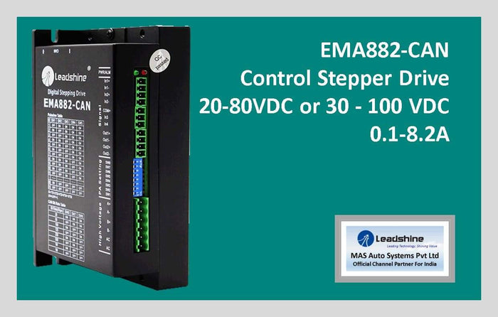 Leadshine Network Stepper Drive EM-CAN Series EMA882-CAN