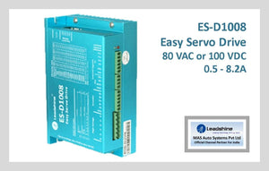 Leadshine Easy Servo Drive ES-D1008 - MAS Auto Systems Pvt Ltd
