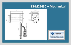 Leadshine Easy Servo Motor ES-M22430 NEMA 24 - MAS Auto Systems Pvt Ltd