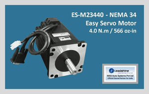 Leadshine Easy Servo Motor ES-M23440 NEMA 34 - MAS Auto Systems Pvt Ltd