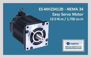 Leadshine Easy Servo Motor ES-MH234120 NEMA 34 - MAS Auto Systems Pvt Ltd